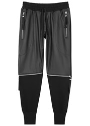 Blood Brother Broad Cotton Jogging Trousers Black