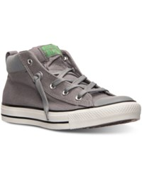 Converse Men's Chuck Taylor Street Mid Casual Sneakers From Finish Line Mason Mouse