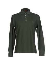 Alviero Martini 1A Classe Topwear Polo Shirts Men Military Green