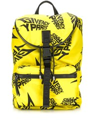 Givenchy Logo Backpack Yellow