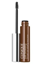 Clinique 'Just Browsing' Brush On Styling Mousse Deep Brown