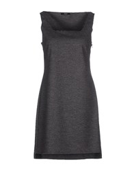 Carla G. Dresses Short Dresses Women Grey
