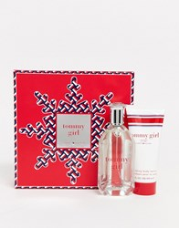 Tommy Hilfiger Girl American Refreshments Set 100Ml Edt Body Lotion Clear