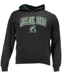 Colosseum Men's Michigan State Spartans Arch Logo Hoodie