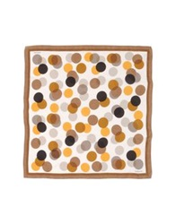 Borbonese Square Scarves Brown