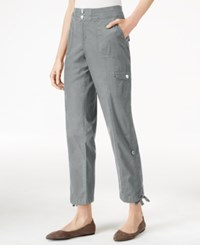 Styleandco. Style Co. Petite Convertible Cargo Pants Only At Macy's New Titanium
