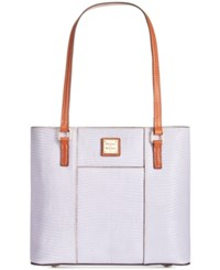 Dooney And Bourke Lizard Embossed Small Lexington Shopper A Macy's Exclusive Style Lilac