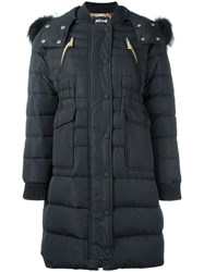 Just Cavalli Padded Coat Black