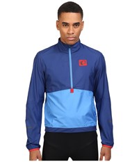 Pearl Izumi Select Barrier Pullover Blue X2 Men's Clothing