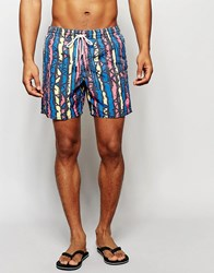 O'neill Wave Neon Swim Shorts Multi