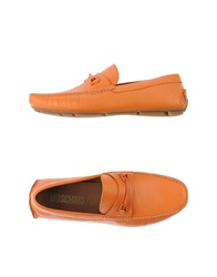 Moschino Moccasins Orange