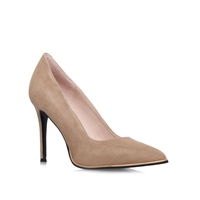 Kurt Geiger Beauty High Heel Court Shoes Nude