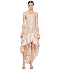 Marchesa High Low Tulle Gown Blush Women's Dress Pink