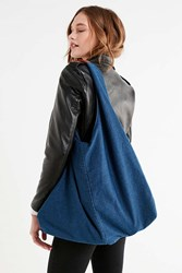 Urban Outfitters Soft Slouchy Tote Bag Indigo