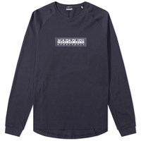 Napapijri Long Sleeve Simmy Tee Blue