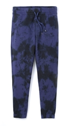 Vince Marl Dyed Sweatpants Indigo Coastal