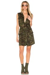 Haute Hippie The Safari Dress Green