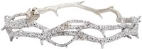 Pearls Before Swine Silver Thorn Bangle