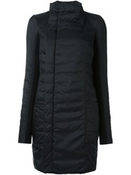 Rick Owens Feather Down Coat Black