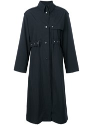 Isabel Marant Fitted Single Breasted Coat Black