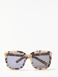 And Or Marble Effect Square Sunglasses Black Mix