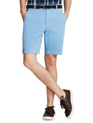 Brooks Brothers Garment Dyed Shorts Blue