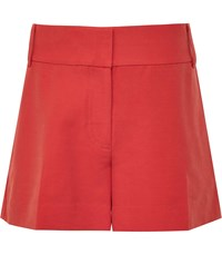 Reiss Lyla Tailored Shorts In Red