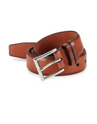 Cole Haan Two Tone Leather Belt British Tan