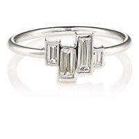 Finn Women's Baguette White Diamond Ring No Color