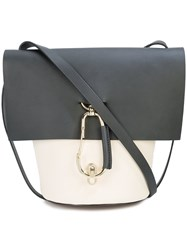 Zac Posen Belay Crossbody Bag White