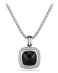 Albion Pendant With Black Onyx And Diamonds David Yurman Black Onyx Diamon