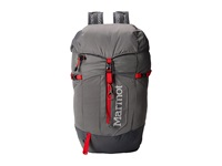 Marmot Kompressor Plus Cinder Team Red Day Pack Bags Gray