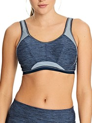 Freya Epic Underwired Sports Crop Top Total Eclipse