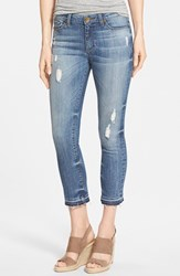 Women's Kut From The Kloth 'Reese' Distressed Stretch Ankle Straight Leg Jeans Fantastic