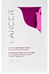Lancer Lift And Plump Sheet Mask X 4 Colorless