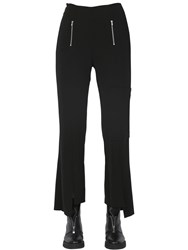 Rolling Acid Flared Stretch Cady Pants