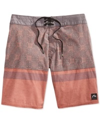 Rusty Nitrous Boardshorts Red Clay