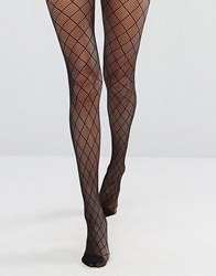 Gipsy Black Diamond Net Tights Black