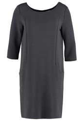 Taifun Jersey Dress Ebony Grey