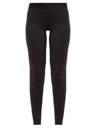 Raey Contrast Waistband Leggings Navy