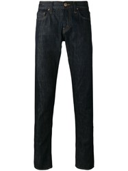 J Brand Tyler Tapered Jeans Blue