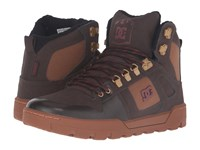 Dc Spartan High Wr Boot Brown Brown Red Men's Boots