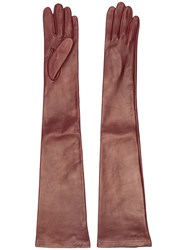 N 21 No21 Long Gloves Brown