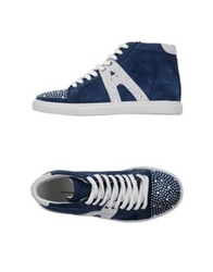 Alessandro Dell'acqua High Tops And Trainers Blue