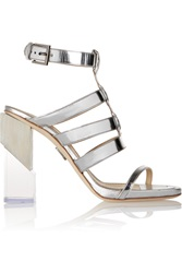 Maiyet Metallic Patent Leather Sandals