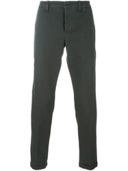 Dondup Straight Trousers Grey