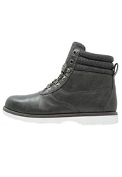 Your Turn Laceup Boots Dark Grey