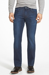 34 Heritage 'Courage' Classic Straight Leg Jeans Deep Summer Online Only