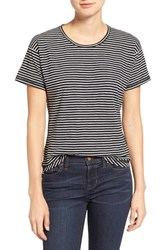 Madewell Women's Whisper Cotton Stripe Crewneck Tee