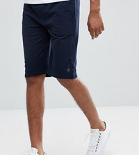 French Connection Tall Jersey Shorts Navy